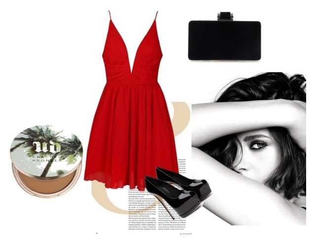 """""""Saturday party"""" by margherita994 ❤ liked on Polyvore featuring Chanel, Urban Decay and Ally Fashion"""
