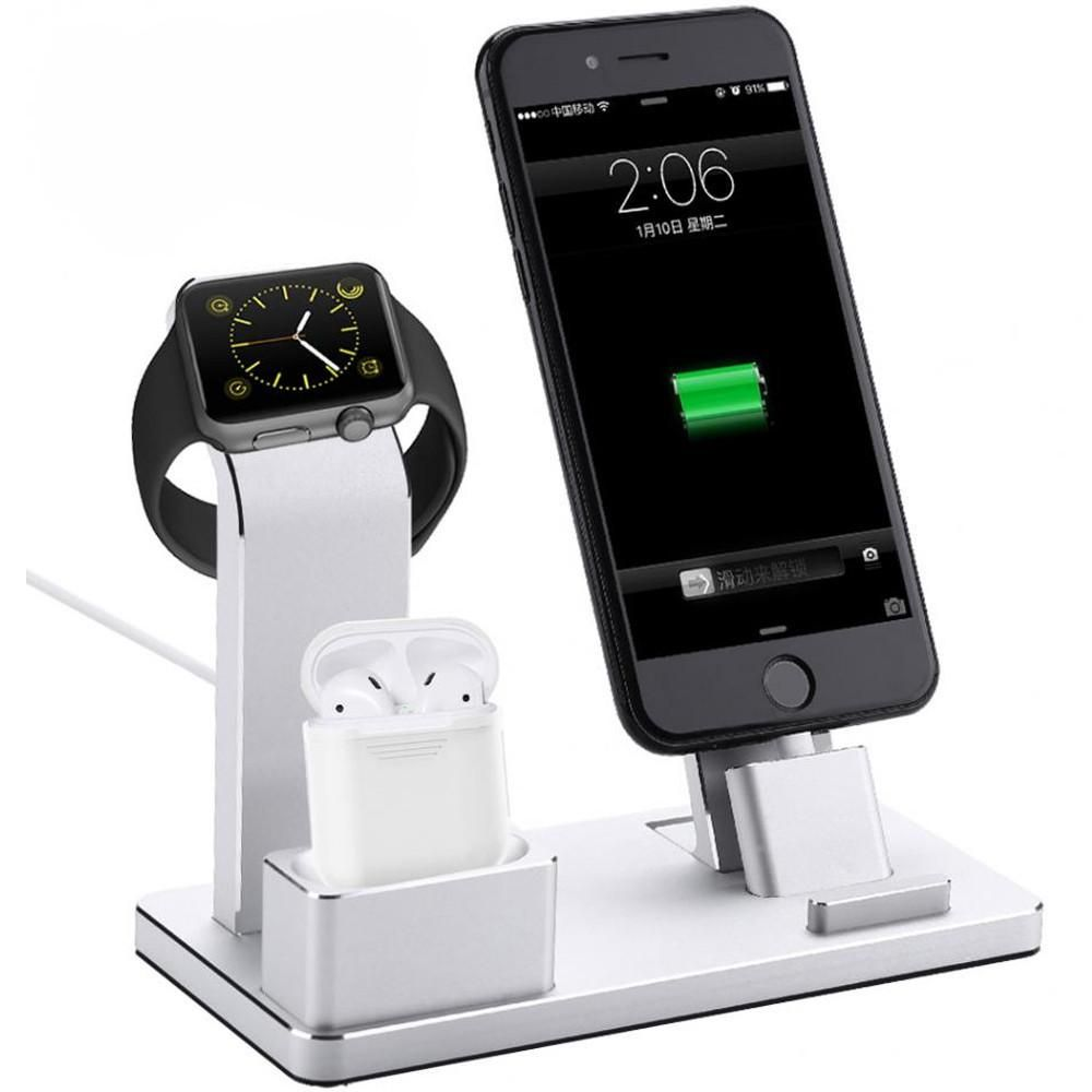 checkout 4 in 1 Charging Stand Aluminum Alloy