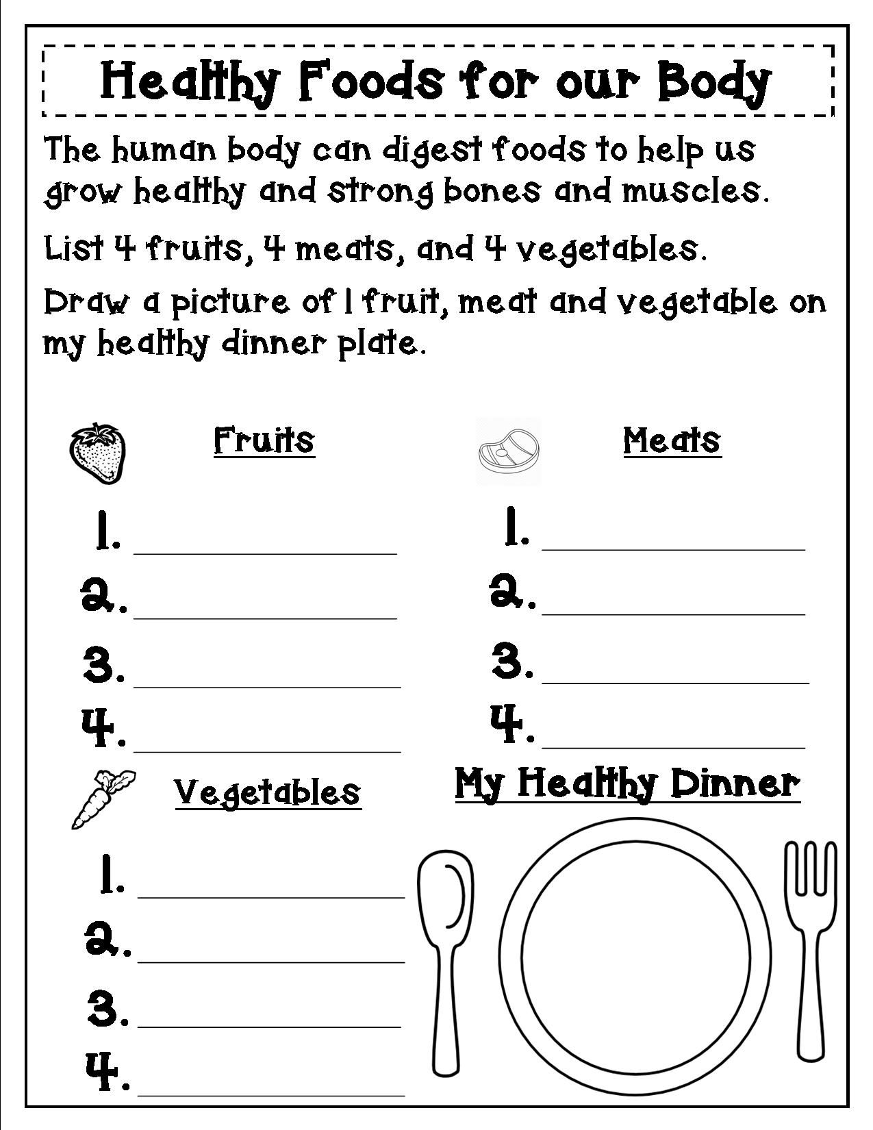 Grade 1 Amp 2 Can Learn About Human Body