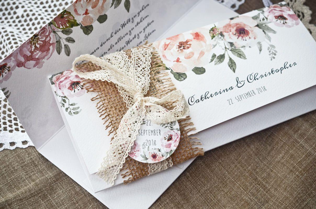 Catherina Und Christopher In 2019 Hochzeitseinladungen Wedding