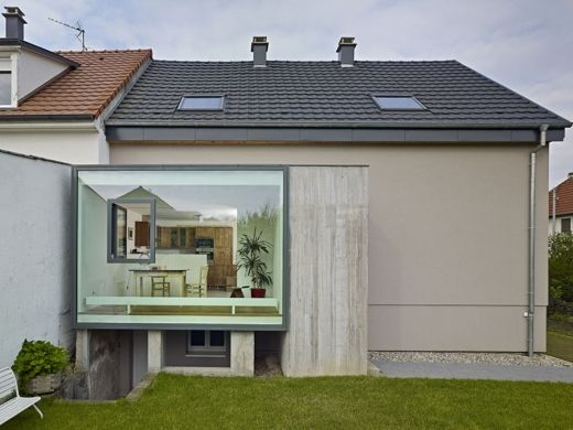 The Window Inside the Window by Loïc Picquet Architect | For the