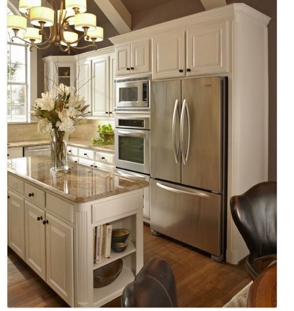Kitchen Design Refrigerator kitchen design oven next to wall aa336b60e6cfca8034b3d3adb90b43bd