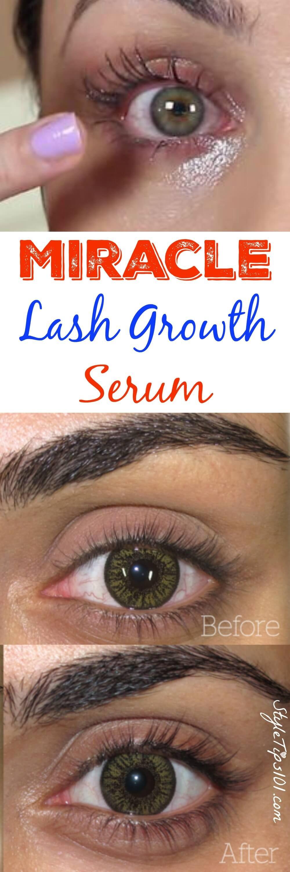 Diy Eyelash Growth Serum Hair Pinterest Eyelash Growth Serum