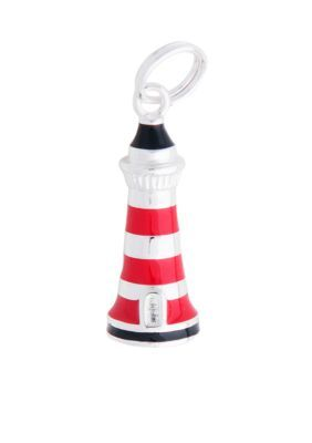 Belk Silverworks  Pure 100 Lighthouse Charm