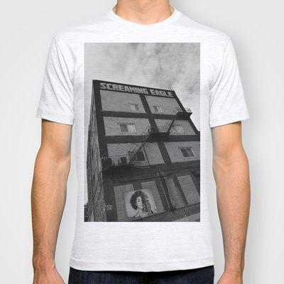 Screaming Eagle Montreal  T-shirt by Affinity for Light - $22.00