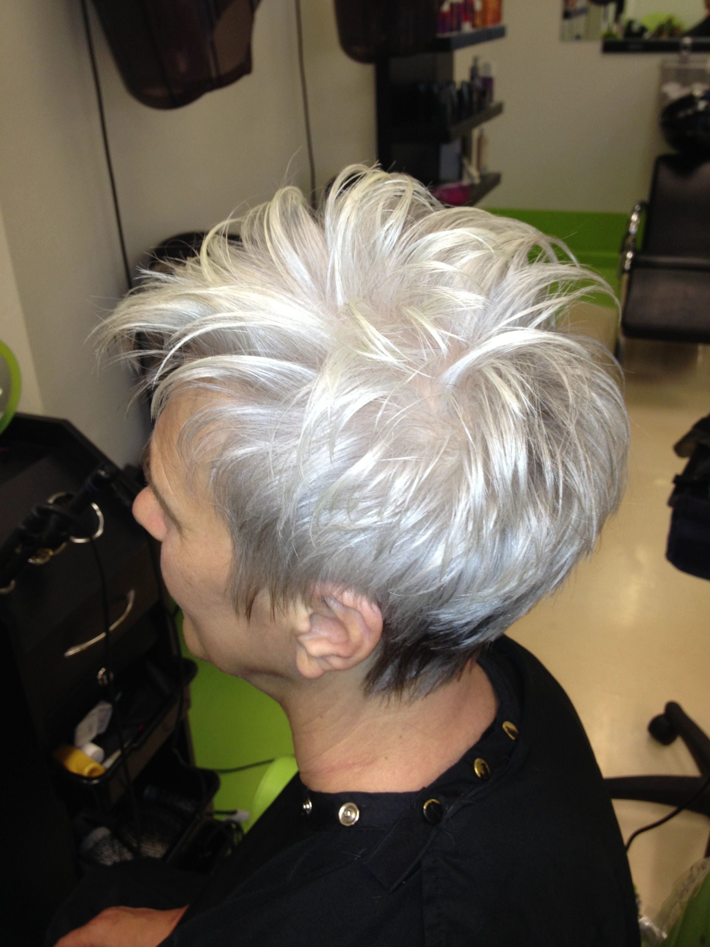 Womanus short haircut by alina skye hairstyles pinterest