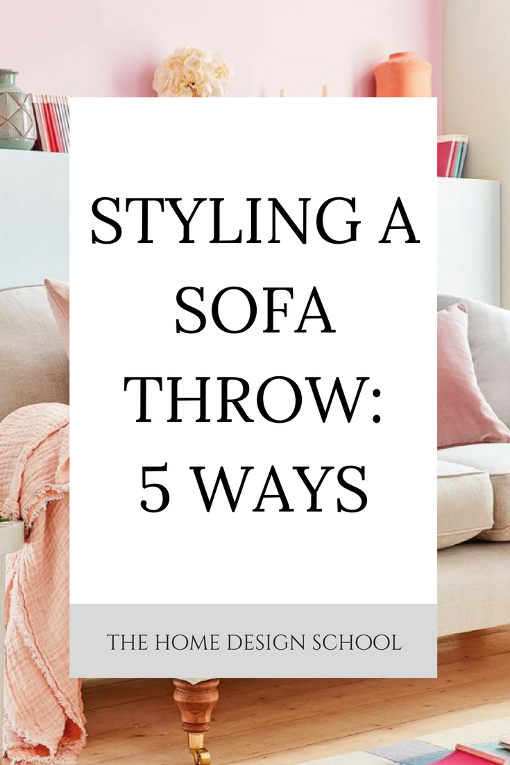 Styling A Sofa Throw 5 Ways Couch Throw Blanket Throw Pillows