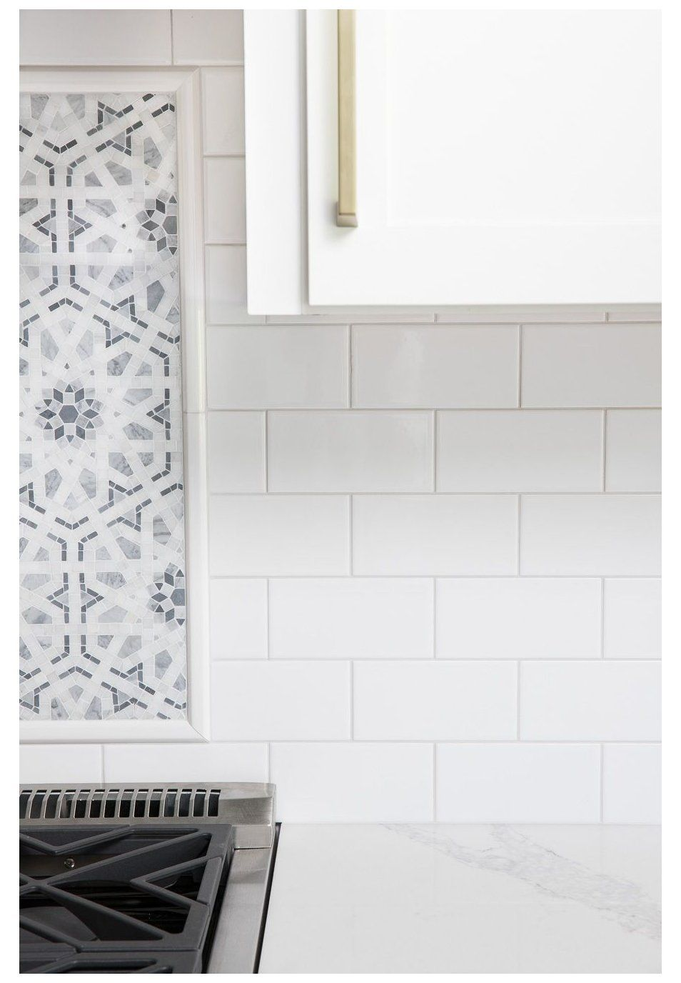 White Subway Tile With Gray Grout My Favorite Grays Light Gra In 2020 White Subway Tile Kitchen White Subway Tiles Kitchen Backsplash Subway Tile Backsplash Kitchen