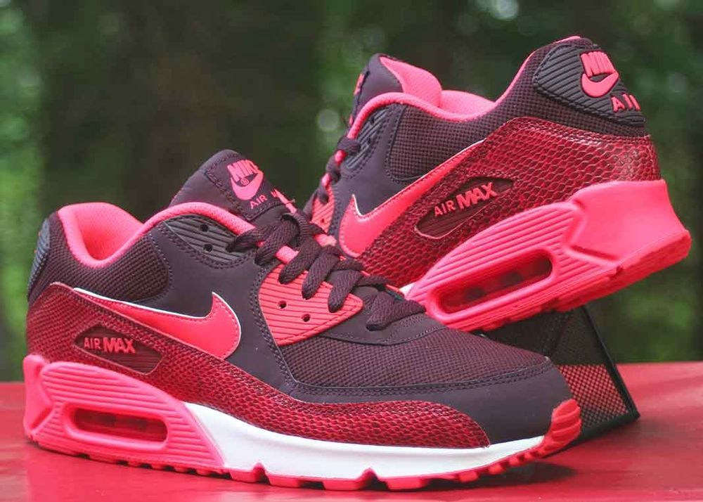 Nike Air Max 90 Essential | Rot | Sneaker | 537384 610