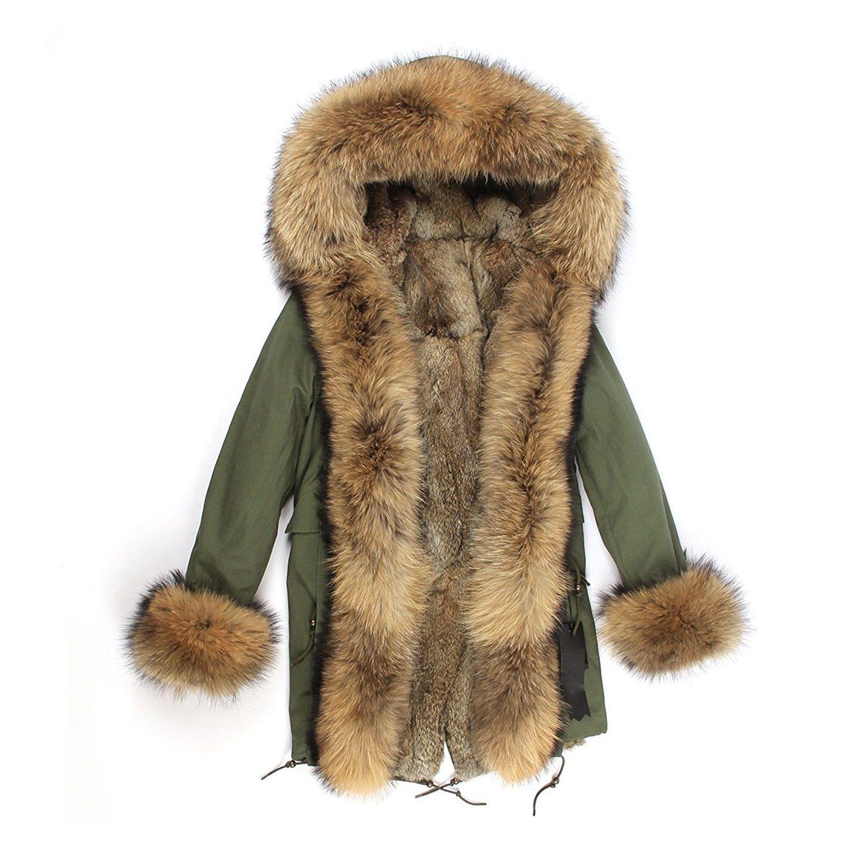 lea marie parka xxl kragen aus 100 echtpelz echtfell jacke mantel kaninchen f tterung jacken. Black Bedroom Furniture Sets. Home Design Ideas