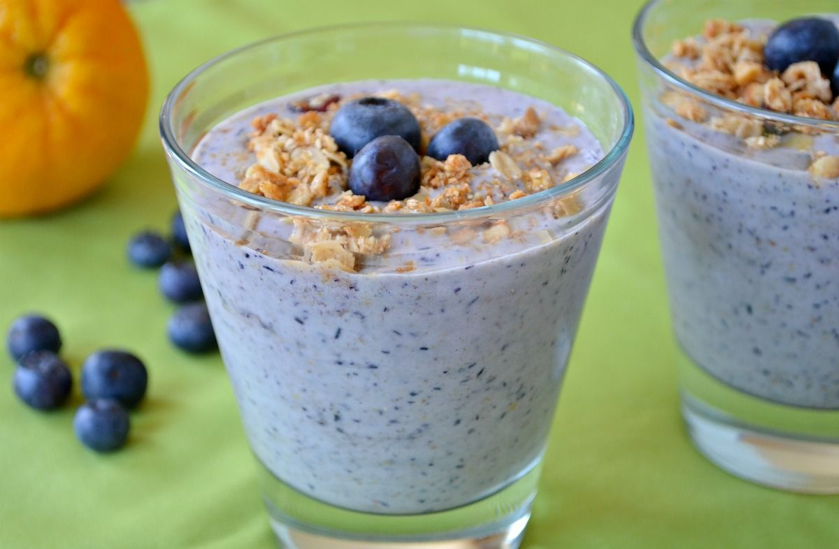 Blueberryorange smoothie recipe food blueberry