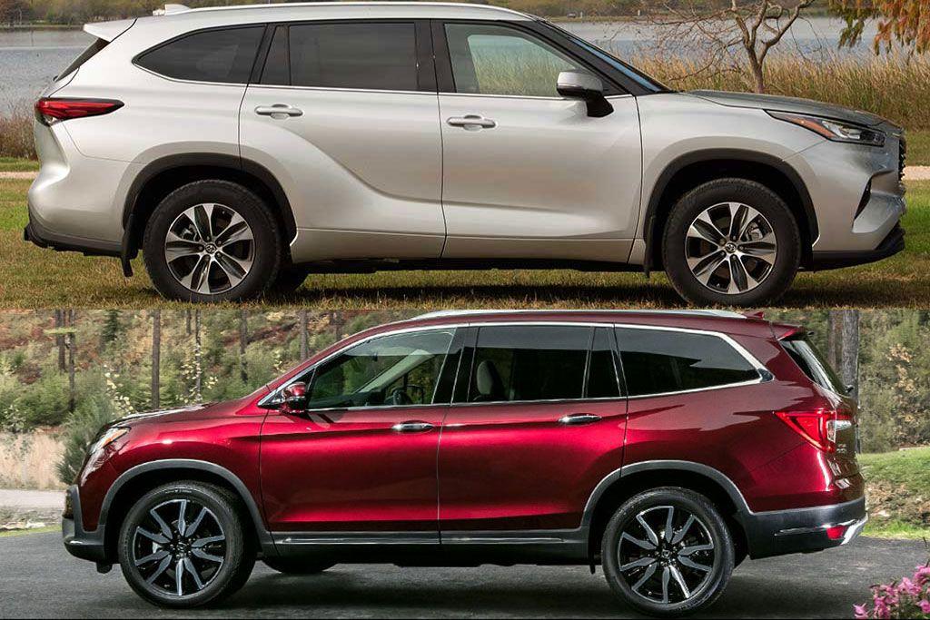 2020 Toyota Highlander Vs 2020 Honda Pilot Which Is Better Autotrader In 2020 Honda Pilot Toyota Highlander Toyota Emblem