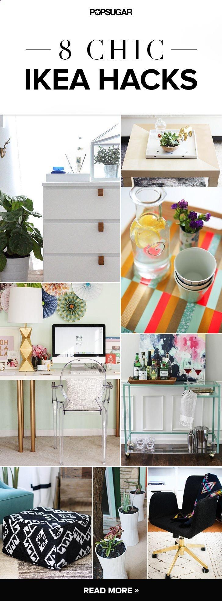 30 Ikea Hacks That Look Shockingly Expensive | Home decor ...