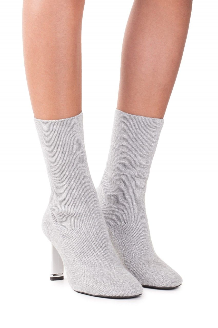 Jeffrey Campbell Shoes PELIGRO New Arrivals in Grey White