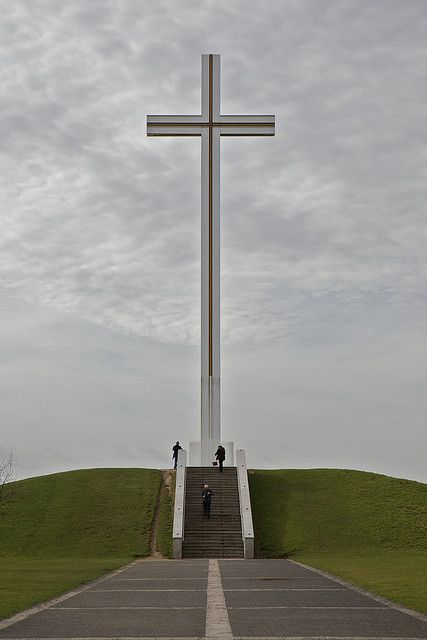 Papal Cross in Phoenix Park, Dublin, Ireland