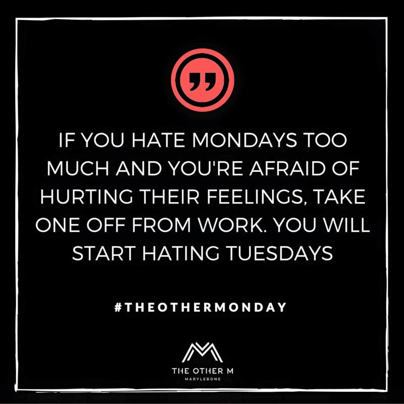 Monday mood #TheOtherMonday www.theotherm.com