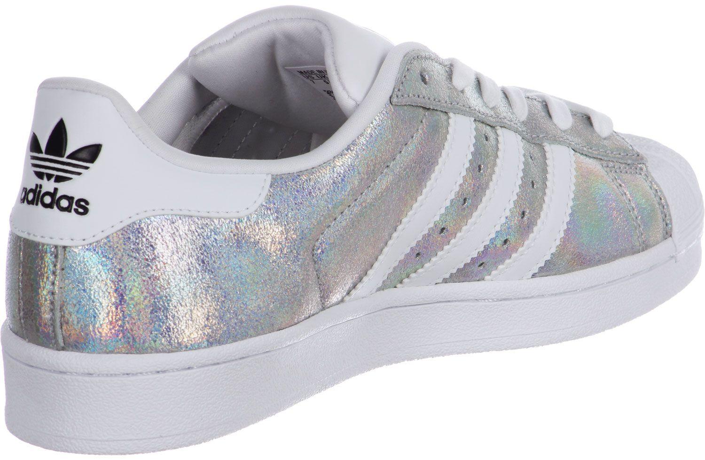 Adidas Superstar Weiß Silber 39 ohne