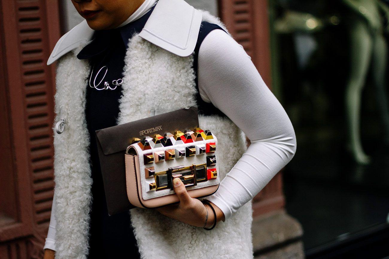 Street Style Mil�n Fashion Week Oto�o Invierno 2016