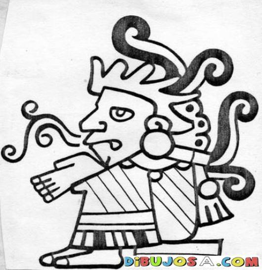 Dibujo Maya Para Pintar Y Colorear Colorear Mayas Dibujo Maya Para Pintar Y Colorear Aztec Art Mexican Textiles Coloring Pages