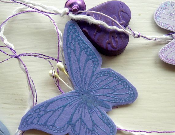 Handmade and designed mixed media Butterfly by itsaMessyNest, £14.00
