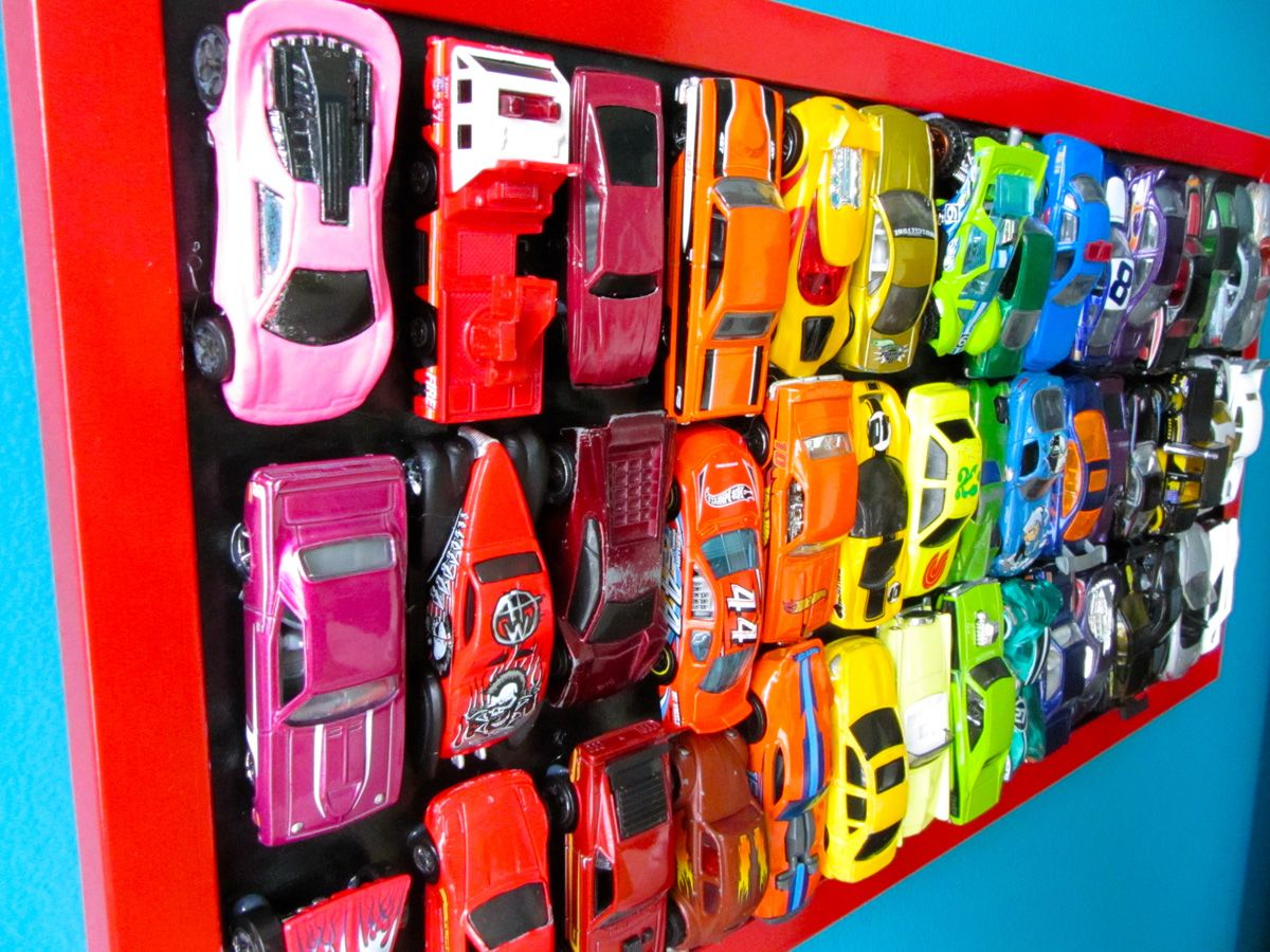 Diy Rainbow Car Wall Art Use Your Old Matchbox And Hot