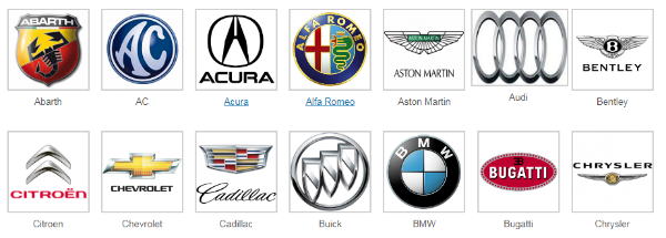 Car Brand Names >> American Top Cars Brand Name And Logos X Car Logos With