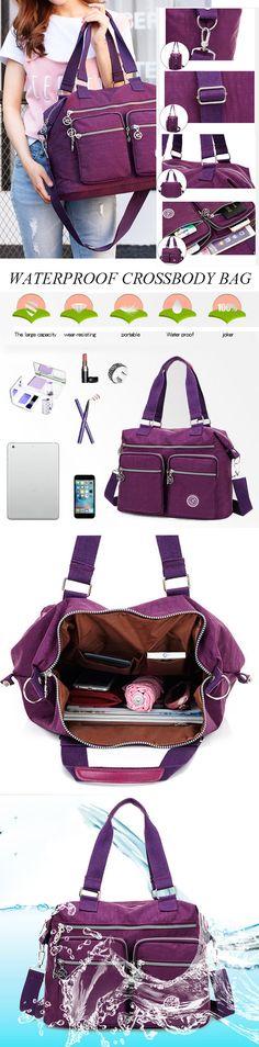 [$ 20.92]   Women Nylon Hot Sale Crossbody Bag Handbag Bag Dual-use Tote Bag