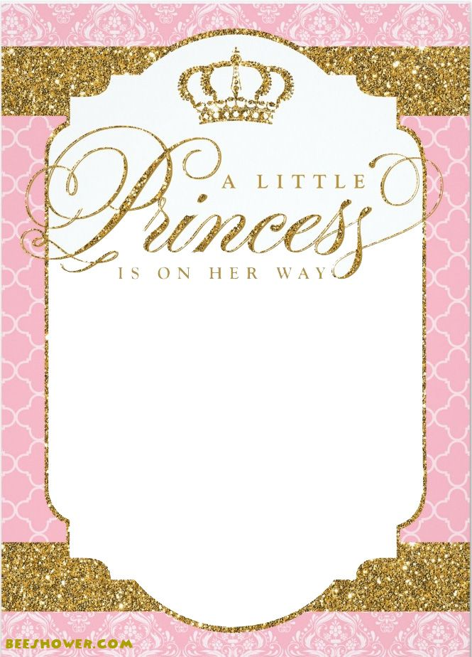 Princess Themed Baby Shower Ideas For Pas