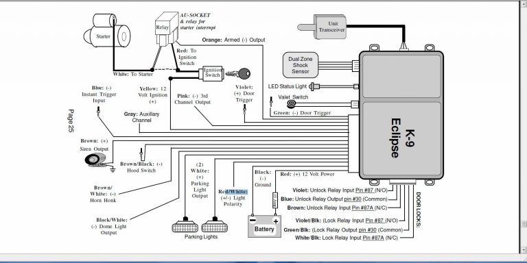 car alarm wiring diagrams scematic inside free download