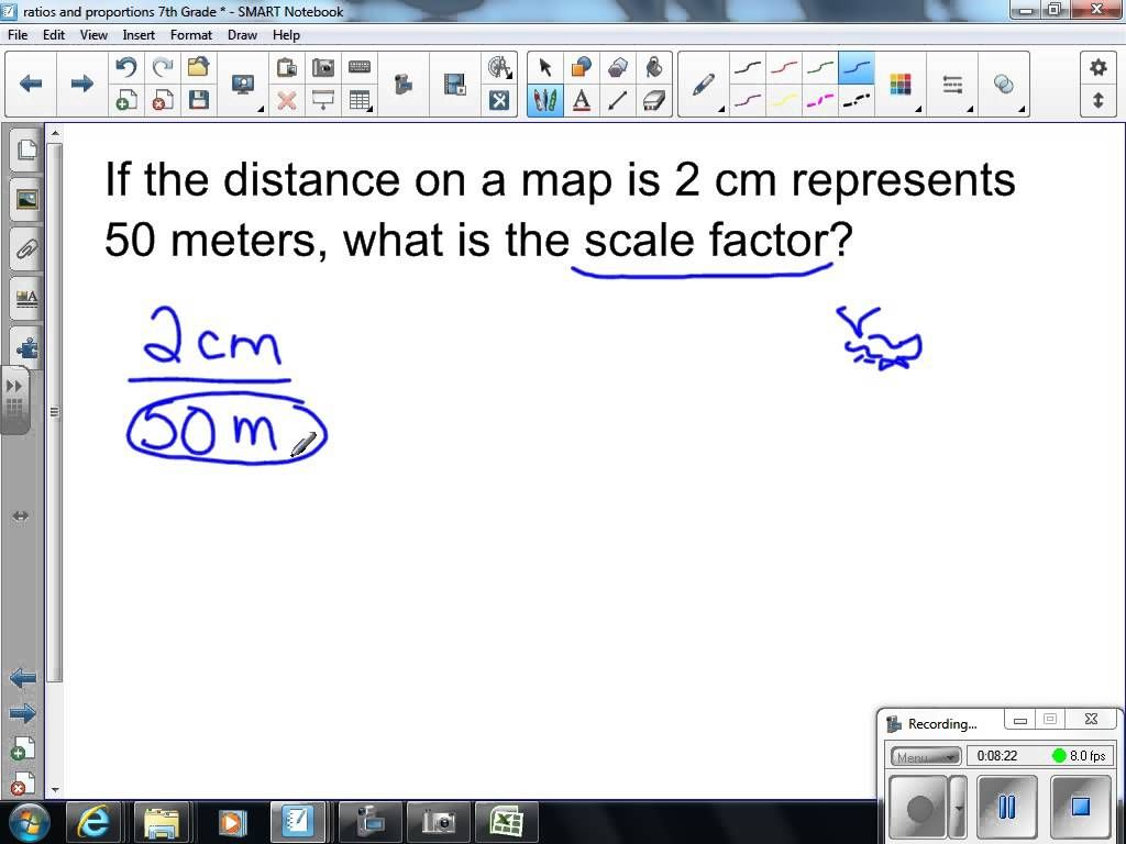 Scale Drawings And Scale Factors 7th Grade Math 7th Grade Math Math Methods Scale Drawing