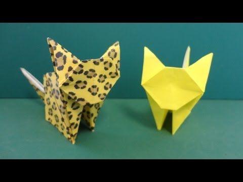 Origami Neko - Cat (Jo Nakashima) - YouTube   360x480