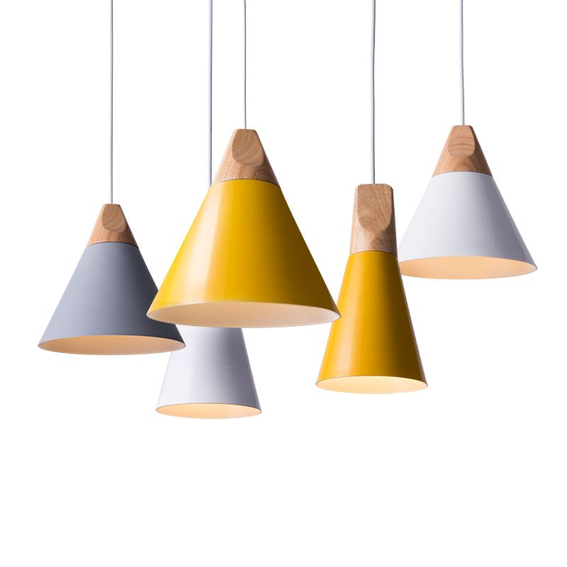 Modern wood pendant lights lamparas colorful aluminum lamp shade modern wood pendant lights lamparas colorful aluminum lamp shade luminaire dining room lights e27 pendant lamp for home lighting in pendant lights from aloadofball Choice Image