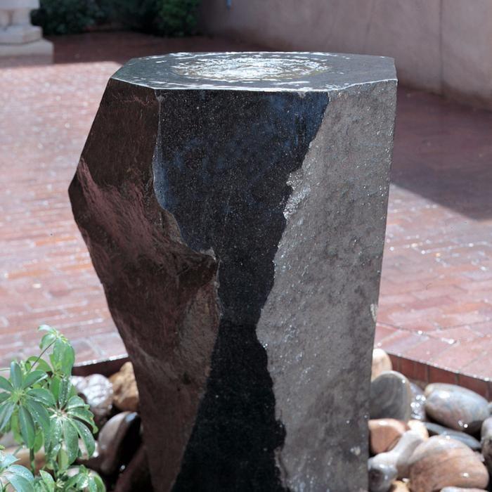 Garden Fountain Mizubachi Fountain 39 inch  Stone Forest Garden Fountain Mizubachi Fountain 39 inch  Stone Forest
