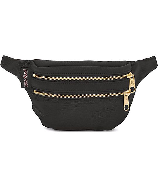aa804882998 Keep your personal belongings safe and secure with this double pocket fanny  pack from Jansport. The Hippyland fanny pack from Jansport features a  double ...