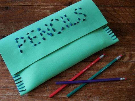 estuche goma-eva | manualidades para hacer con niños | Pinterest