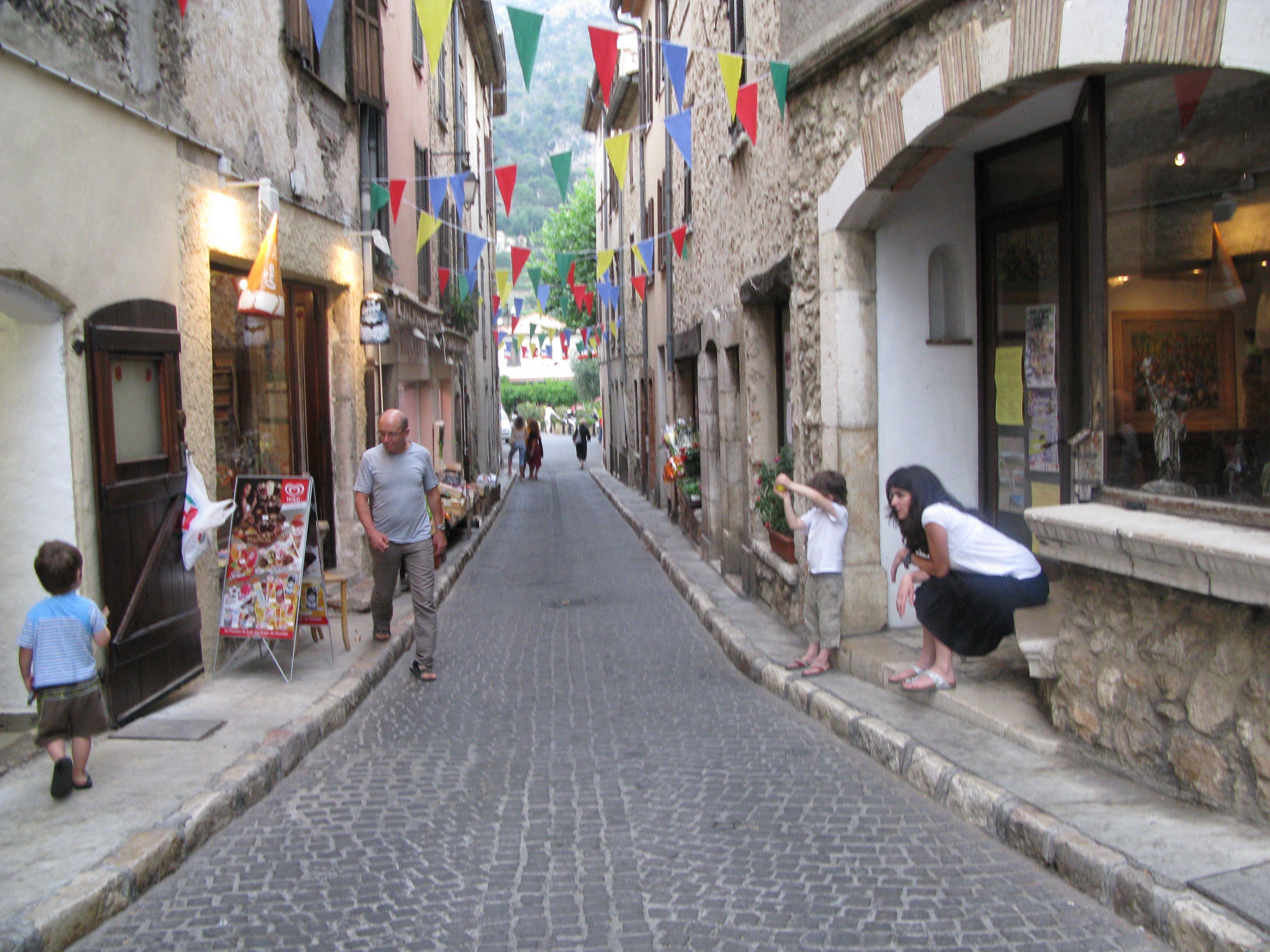 St Jeannet Streets St Jeannet France