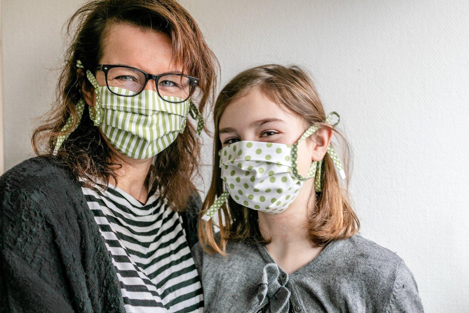 Schöne Mundschutzmasken