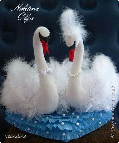 Мастер-класс Поделка изделие Свадьба Моделирование конструирование Свадебные лебеди Мастер-класс Пенопласт фото 1