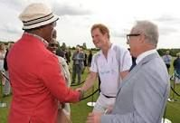 Resultado de imagen para prince Harry and Samuel Jackson
