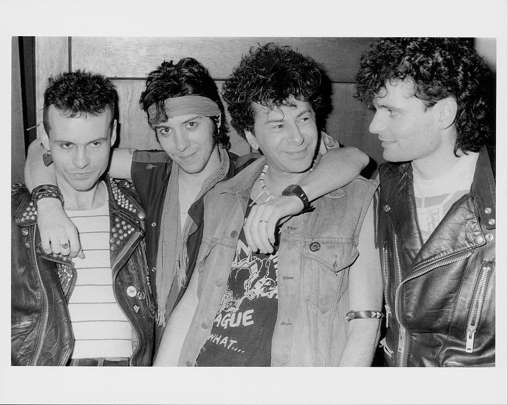 English punk rock band u k subs circa 1978 photo by