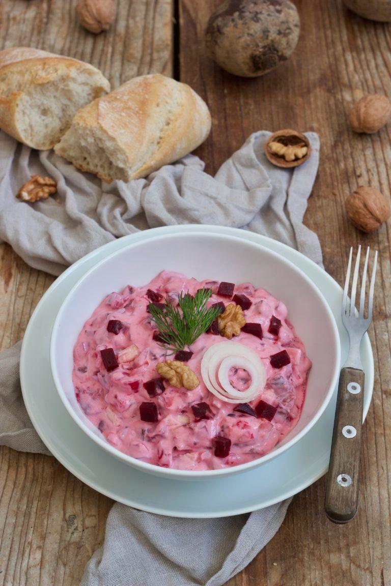 Heringssalat Mit Roten Rüben Recipe Essen Ist Fertig Food