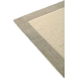 Photo of benuta wool carpet Moorland Beige 68×240 cm – natural fiber carpet made of wool benuta