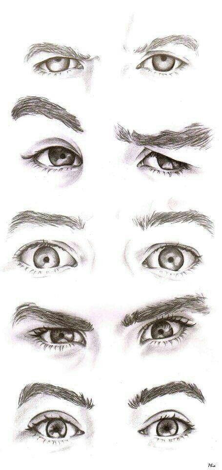 Guy Eyes Drawings Eye Drawing Portrait Drawing