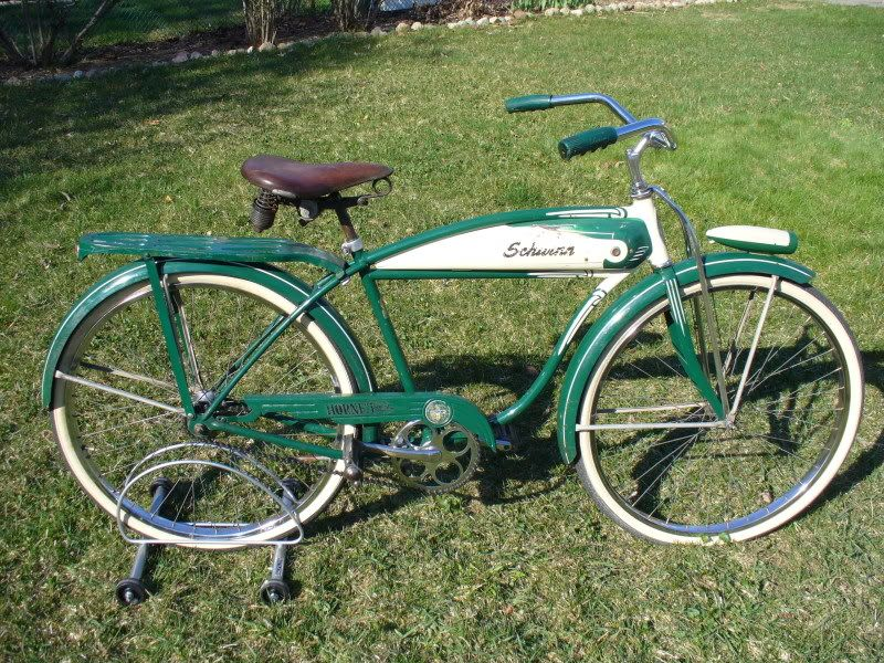 8cabb5259ae 1956 schwinn hornet. I have both the boy and girl versions of this .