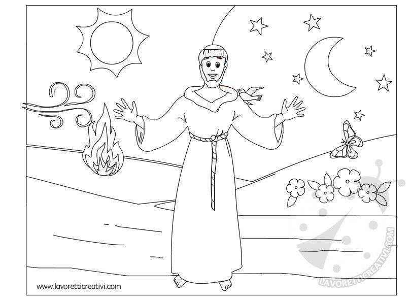 Cartellone Il Cantico delle Creature di San Francesco | 4 ...