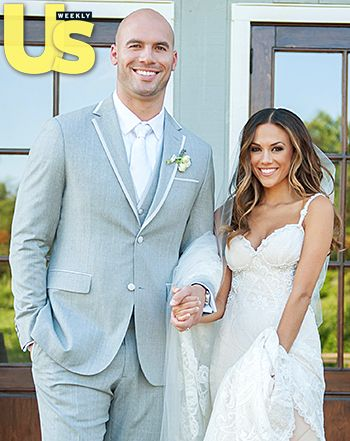 Jana Kramer Weds Michael Caussin Inside Their Picture Perfect Ceremony Watch Their Vows First Kis Jana Kramer Jana Kramer Wedding Wedding Dress Accessories