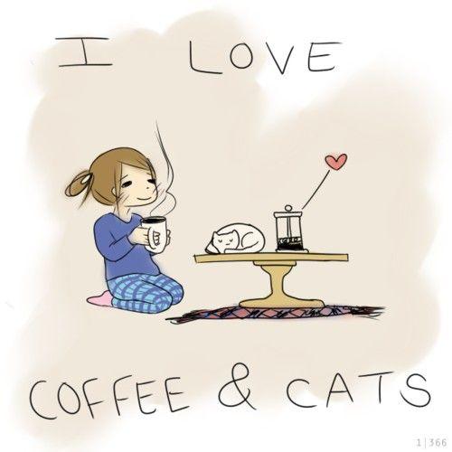 { coffee & cats }