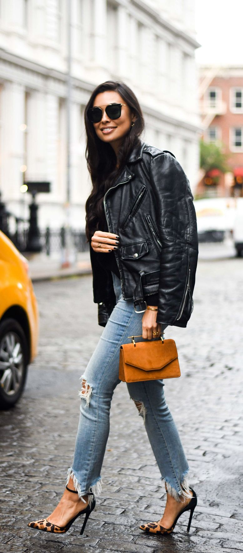 Best Leather Jackets With Love From Kat Lifestyle Blog Best Leather Jackets Affordable Leather Jacket Iro Leather Jacket [ 1769 x 777 Pixel ]