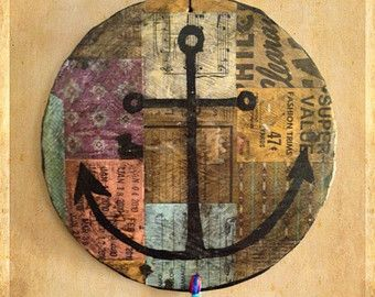Reflections of Gratitude and Offerings Mixed Media Wood by kmichel
