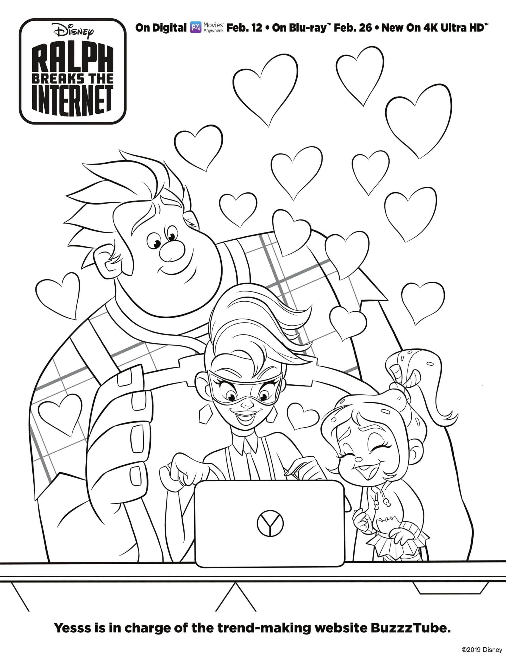 Disney S Ralph Breaks The Internet Wreck It Ralph 2 Movie